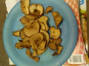 Apple Chips - a yummy, healthy snack