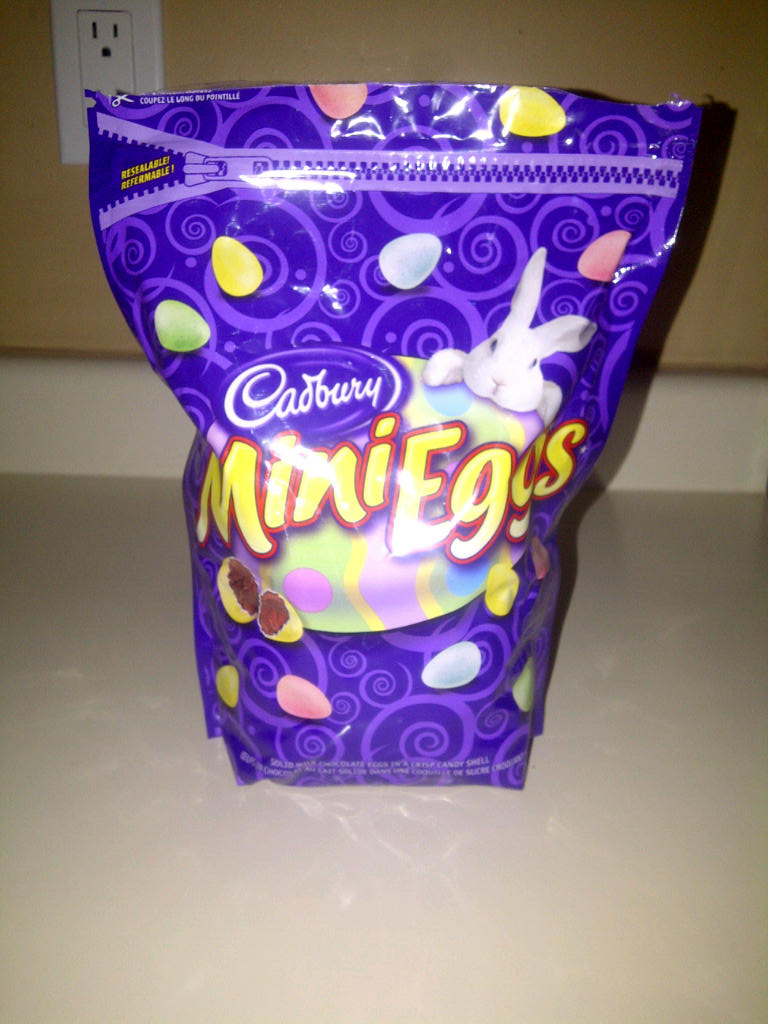 Easter, Chocolate Mini Eggs, And The End Of Week 5