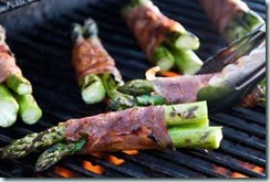 grilled asparagus and proscuitto