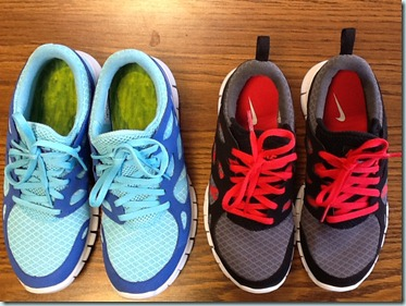 mom and son nike