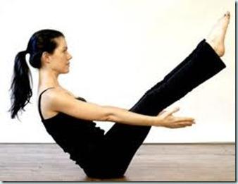 pilates v-sit