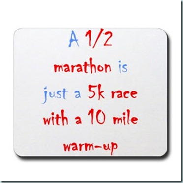 10 mile warm up