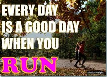 good day when you run