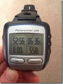 last 8k long run