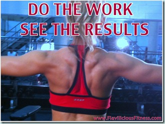do the work see the results