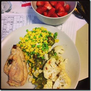 leftover meal