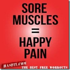 sore muscles