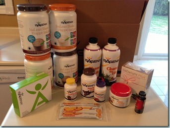 isagenix package
