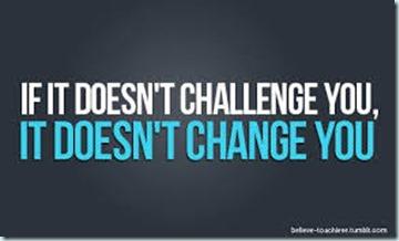 challenge you