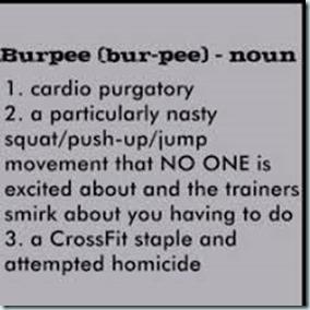crossfit burpee definiton