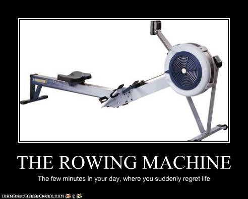 what is an erg rowing machine