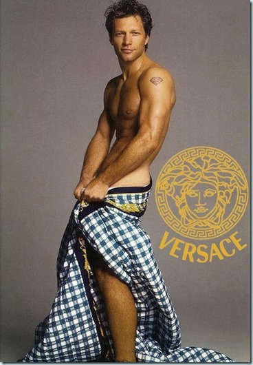bon jovi versace add