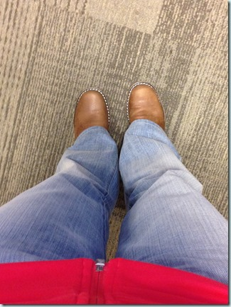 boots at work