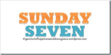 SUNDAY 7