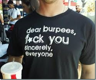 dear burpees