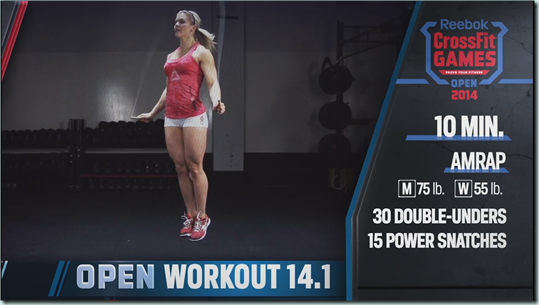 open workout 14.1