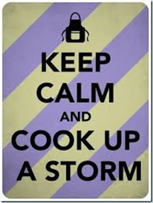 cook up a storm