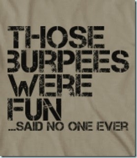fun burpees