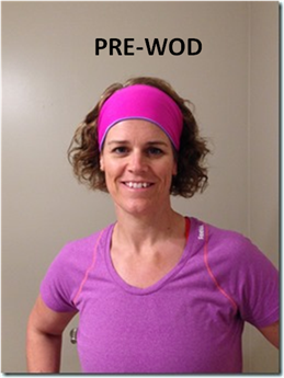 pre-wod headband