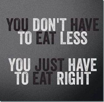eat right