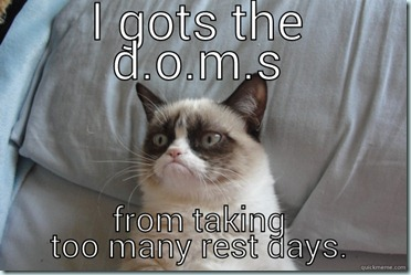 too many rest days