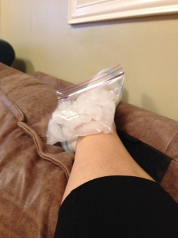 ankle ice