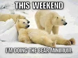 lazy weekend