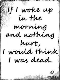 if nothing hurt