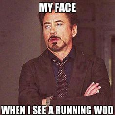 running wod face