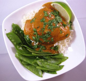 crockpot coconut chicken curry