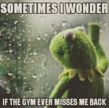 miss the gym